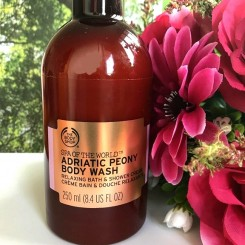 the body shop spa of the world creme bain douche adriatic peony 1
